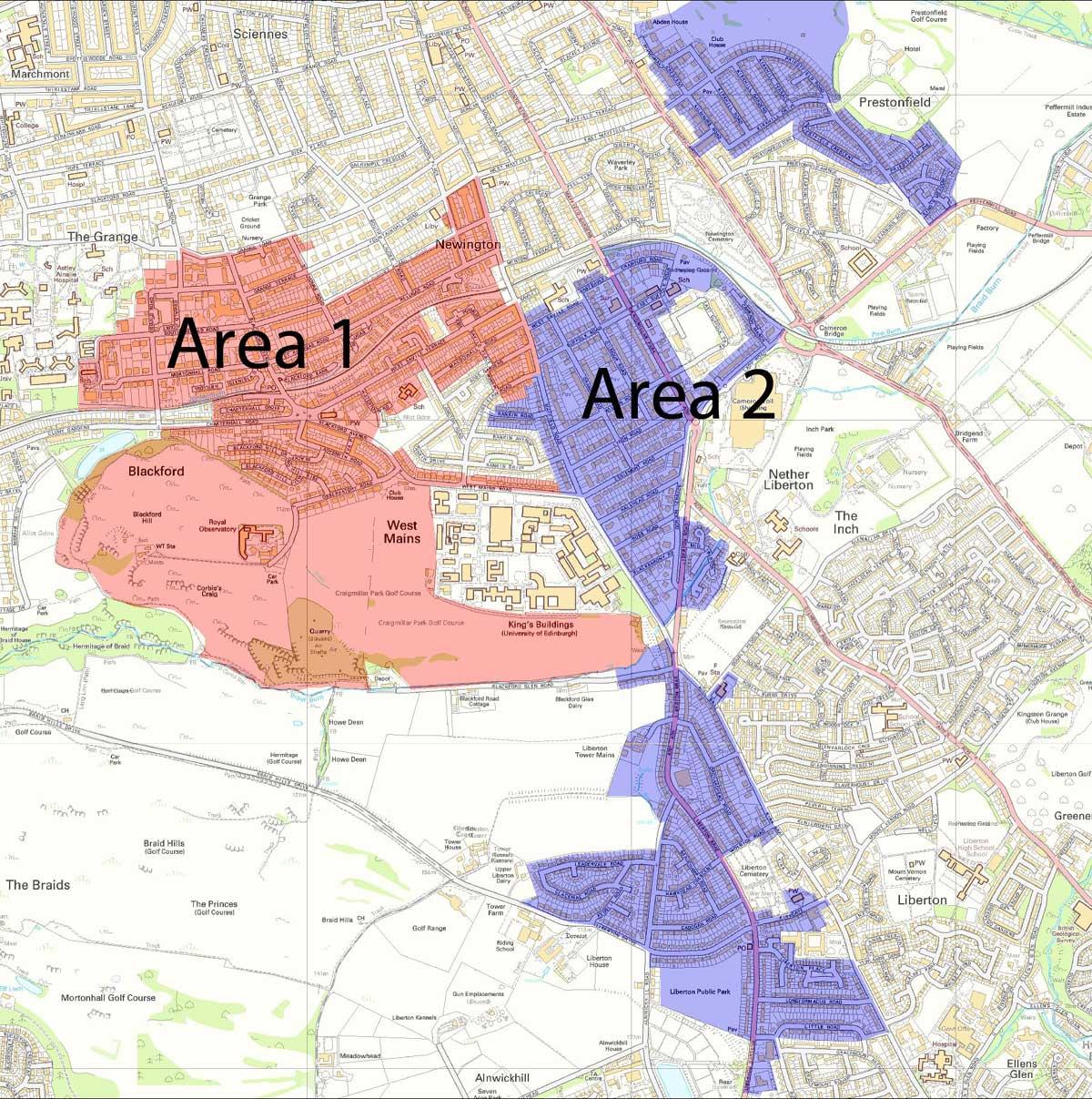 south-edinburgh-directory-map